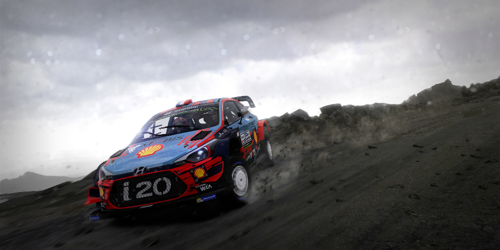 WRC 8 banner