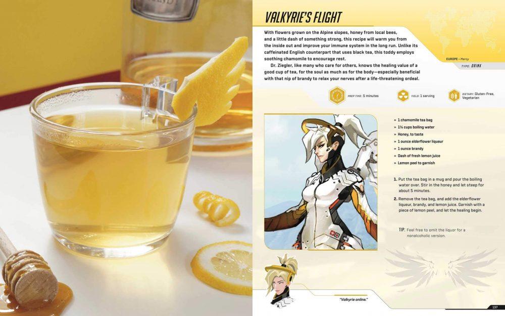 overwatch libro di ricette