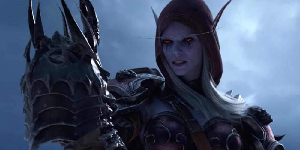 World of Warcraft Shadowlands banner