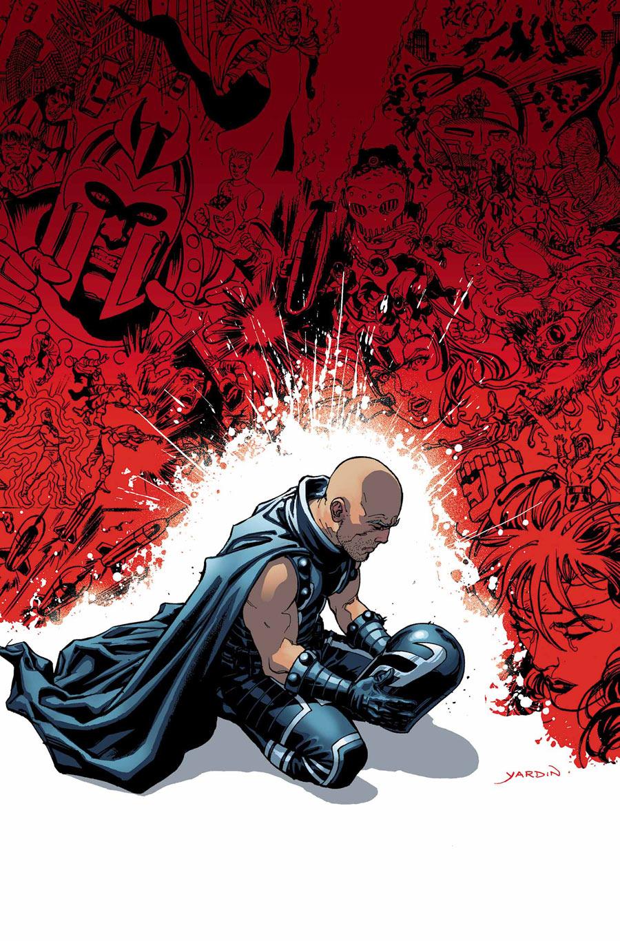 Magneto #21, cover
