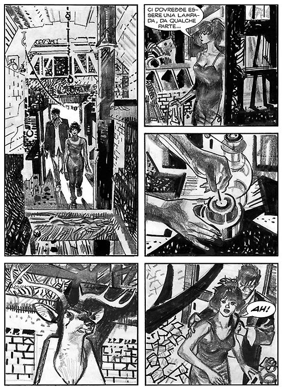 Dylan Dog 342 - Disegno di Piero Dall'Agnol