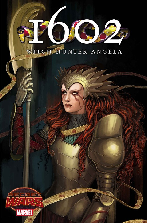 1602 Witch Hunter Angela Copertina 2