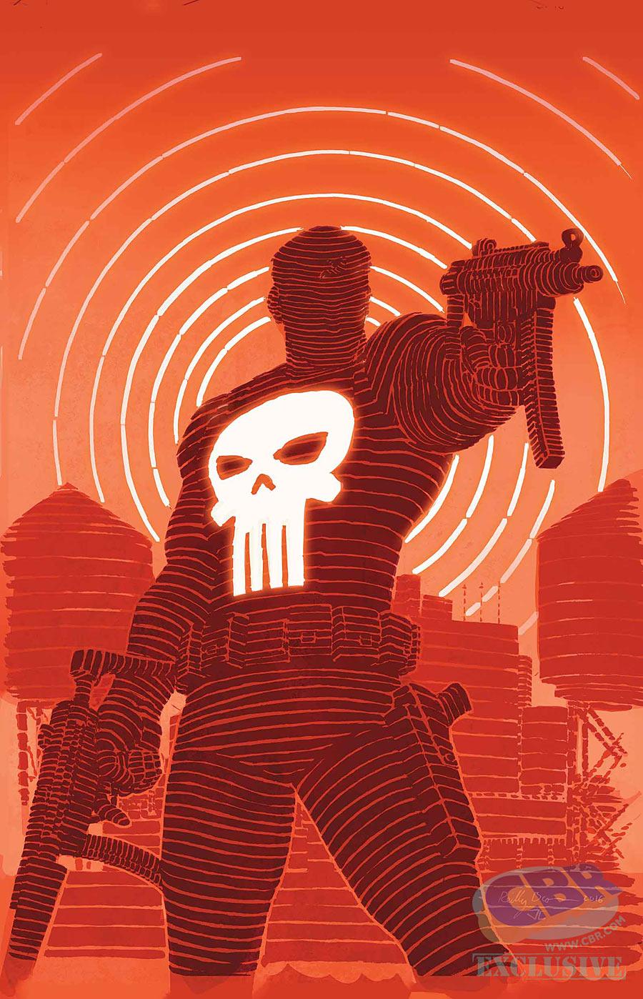 Daredevil Punisher Seventh Circle #3, copertina di Reilly Brown