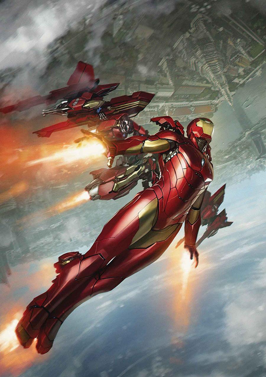 International Iron Man #3, variant cover di Skan