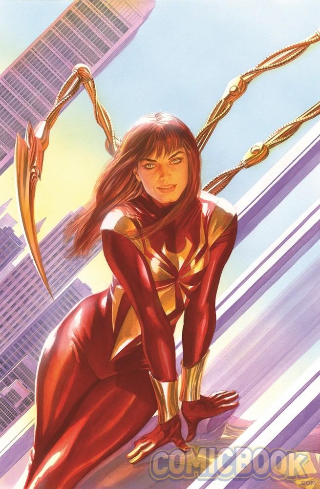 Amazing Spider-Man #15, copertina di Alex Ross