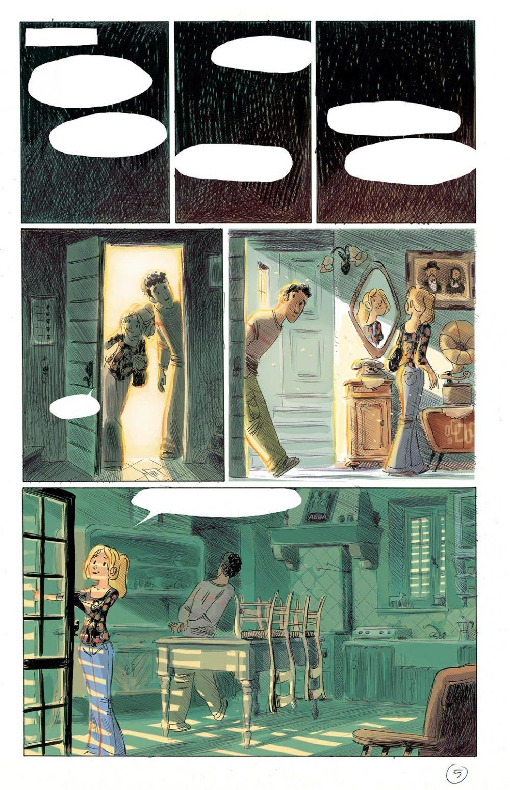 Non stancarti di andare, pagina 5