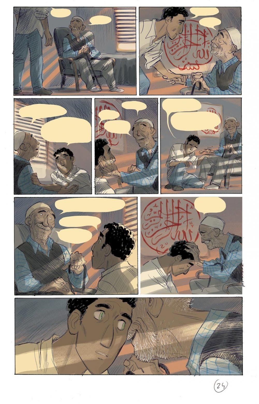 Non stancarti di andare, pagina 24