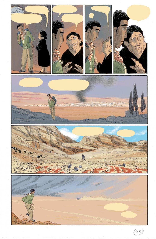 Non stancarti di andare, pagina 25