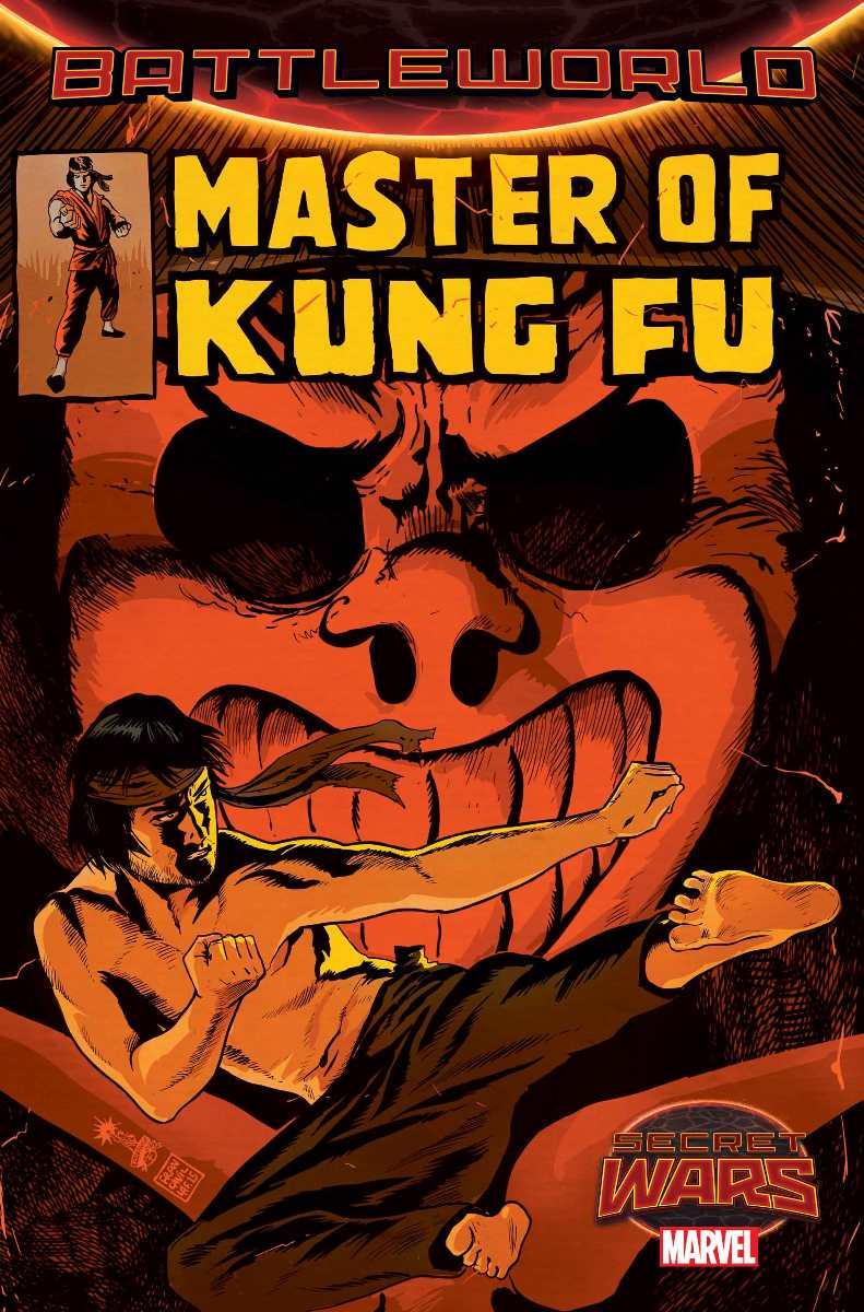 Master of Kung Fu #2, copertina di Francesco Francavilla
