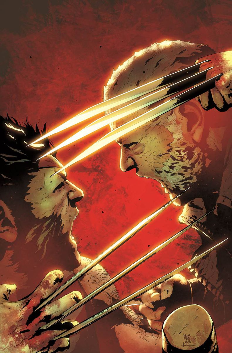 Old Man Logan #2, copertina di Andrea Sorrentino