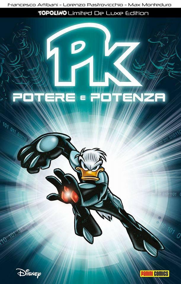 PK: Potere e Potenza - Limited De Luxe Edition, copertina di Lorenzo Pastrovicchio e Max Monteduro