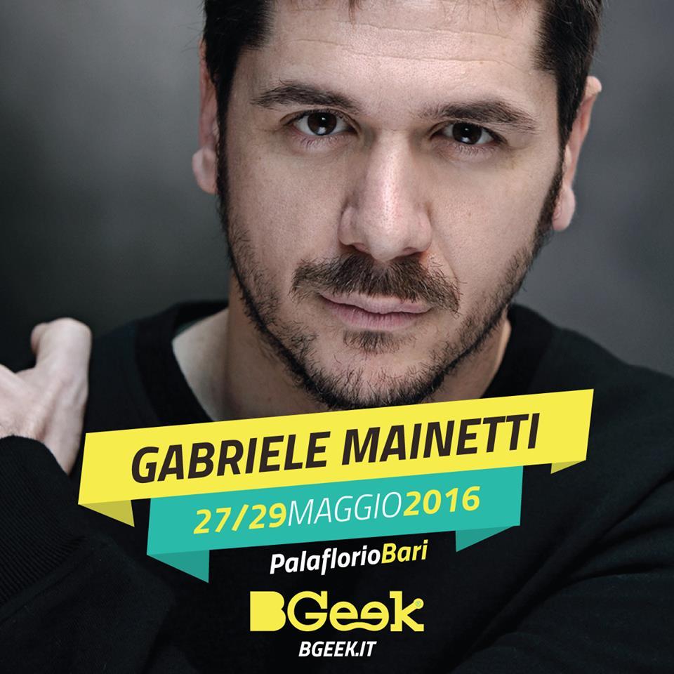 Gabriele Mainetti a BGeek 2016