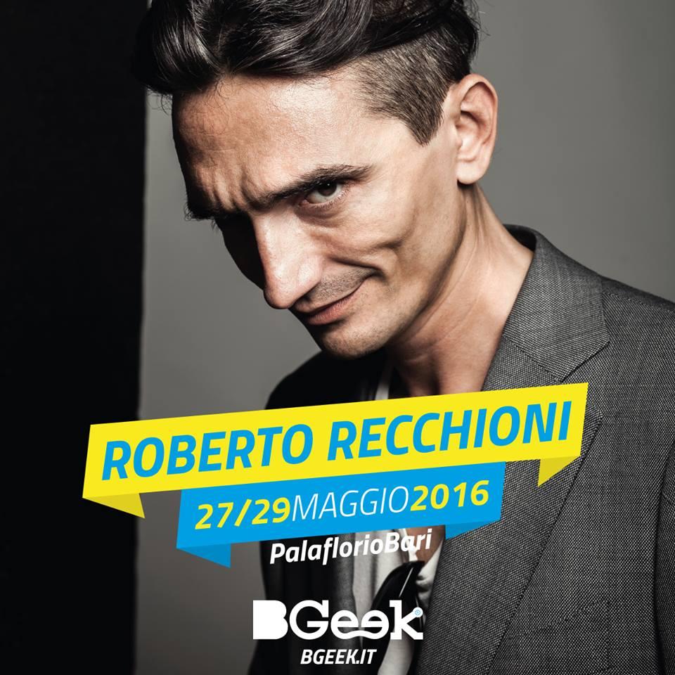 Roberto Recchioni a BGeek 2016