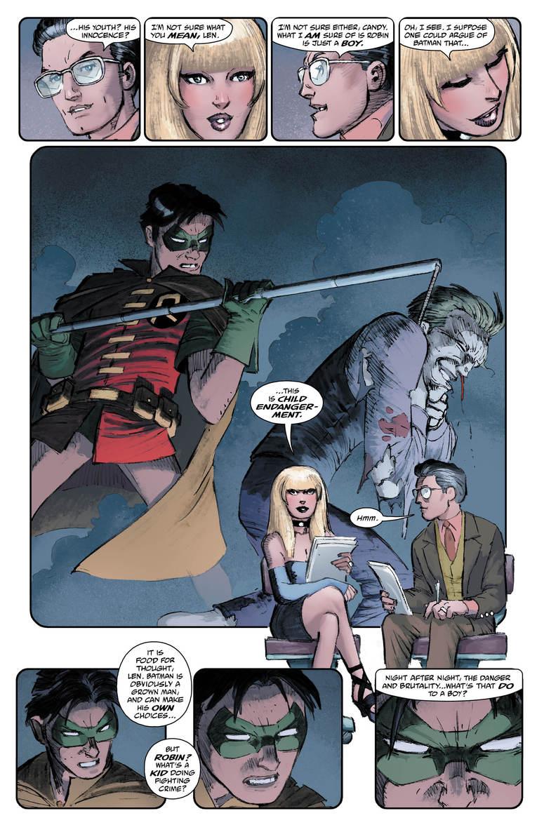 Batman: The Dark Knight Returns - The Last Crusade #1, anteprima 01