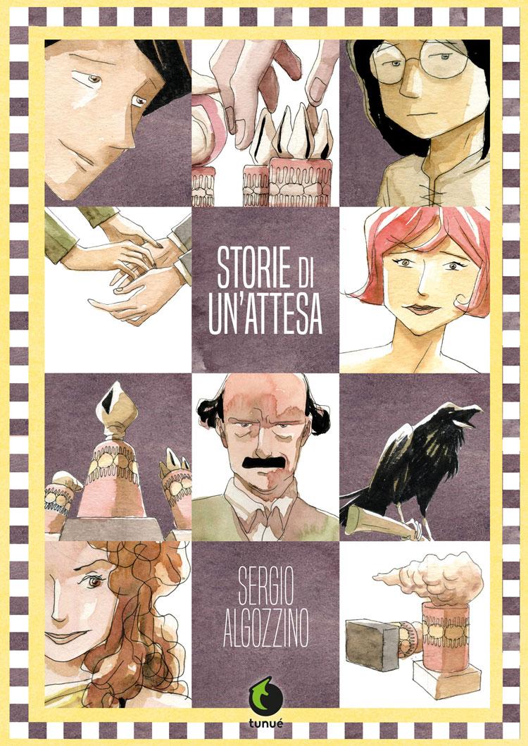Storie di un'attesa, copertina di Sergio Algozzino