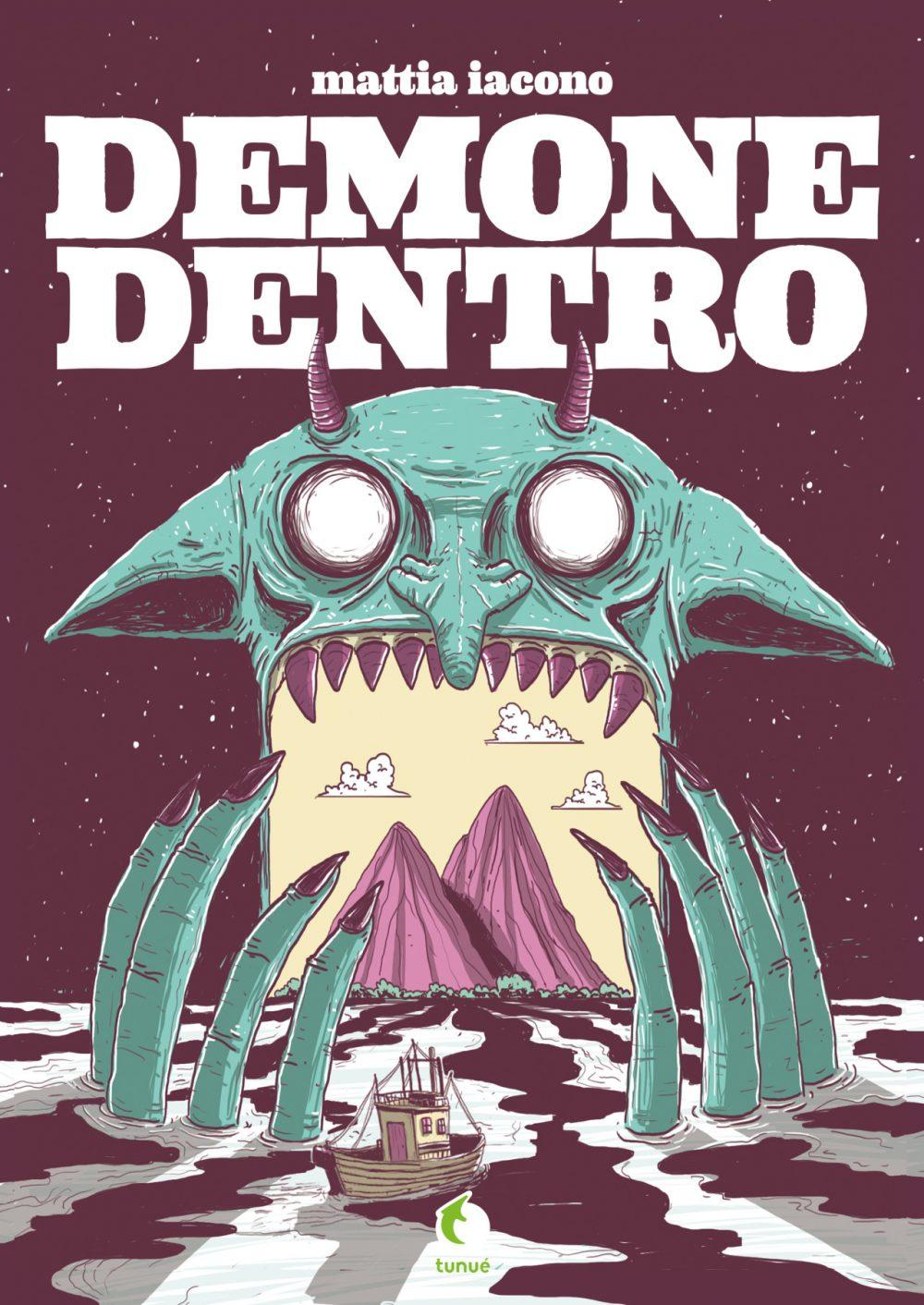 Demone Dentro, copertina di Mattia Iacono