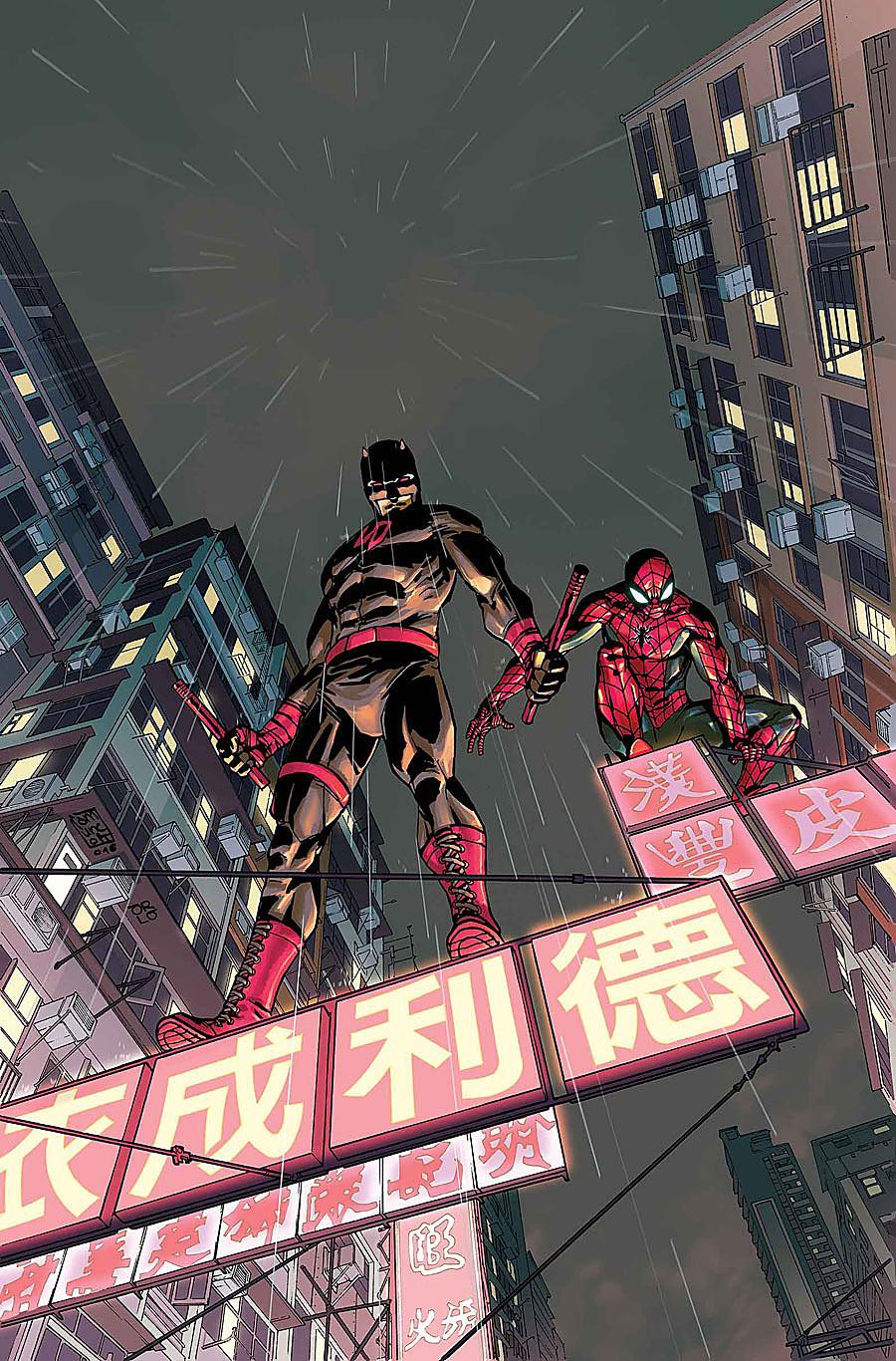 Daredevil #9, copertina di Giuseppe Camuncoli