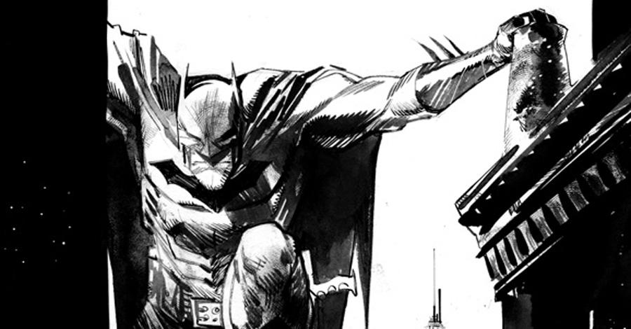 Batman, disegno di Sean Murphy
