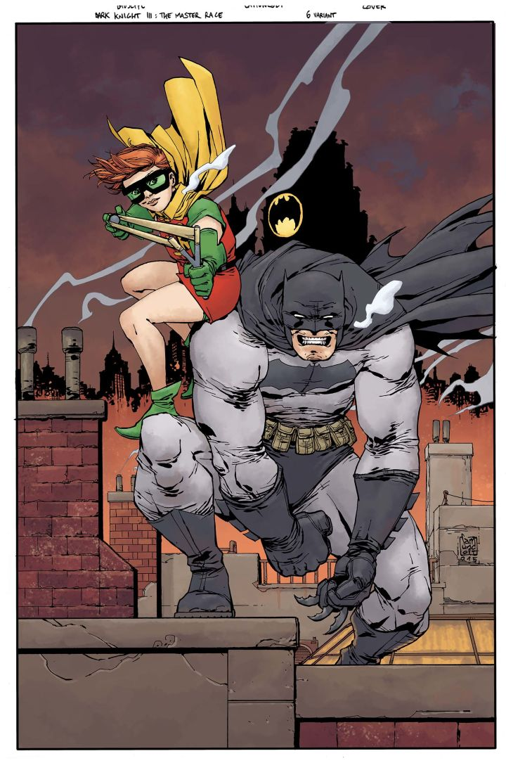 Dark Knight III: The Master Race #6, copertina variant di Giuseppe Camuncoli