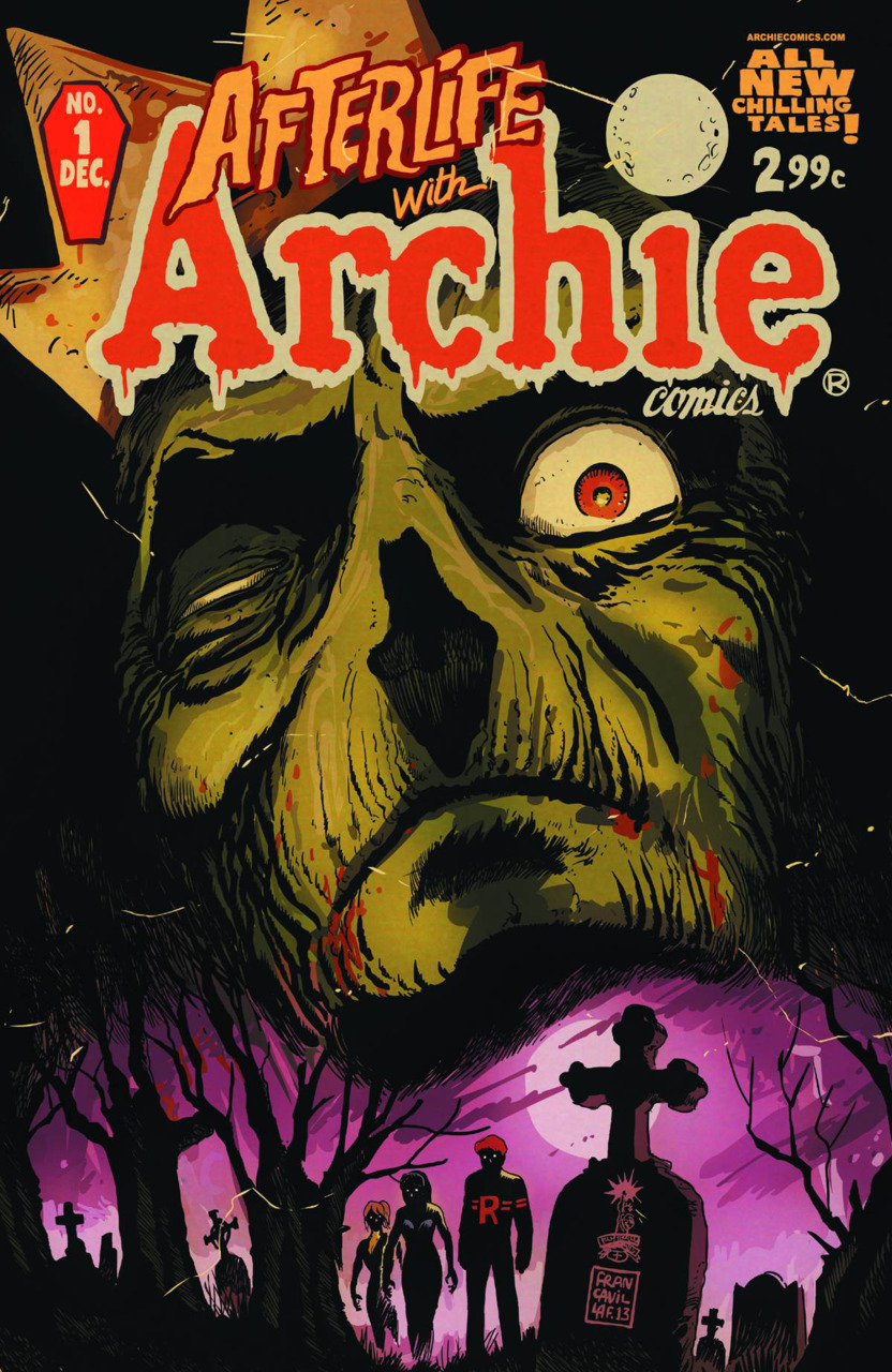 Afterlife with Archie #1, copertina di Francesco Francavilla