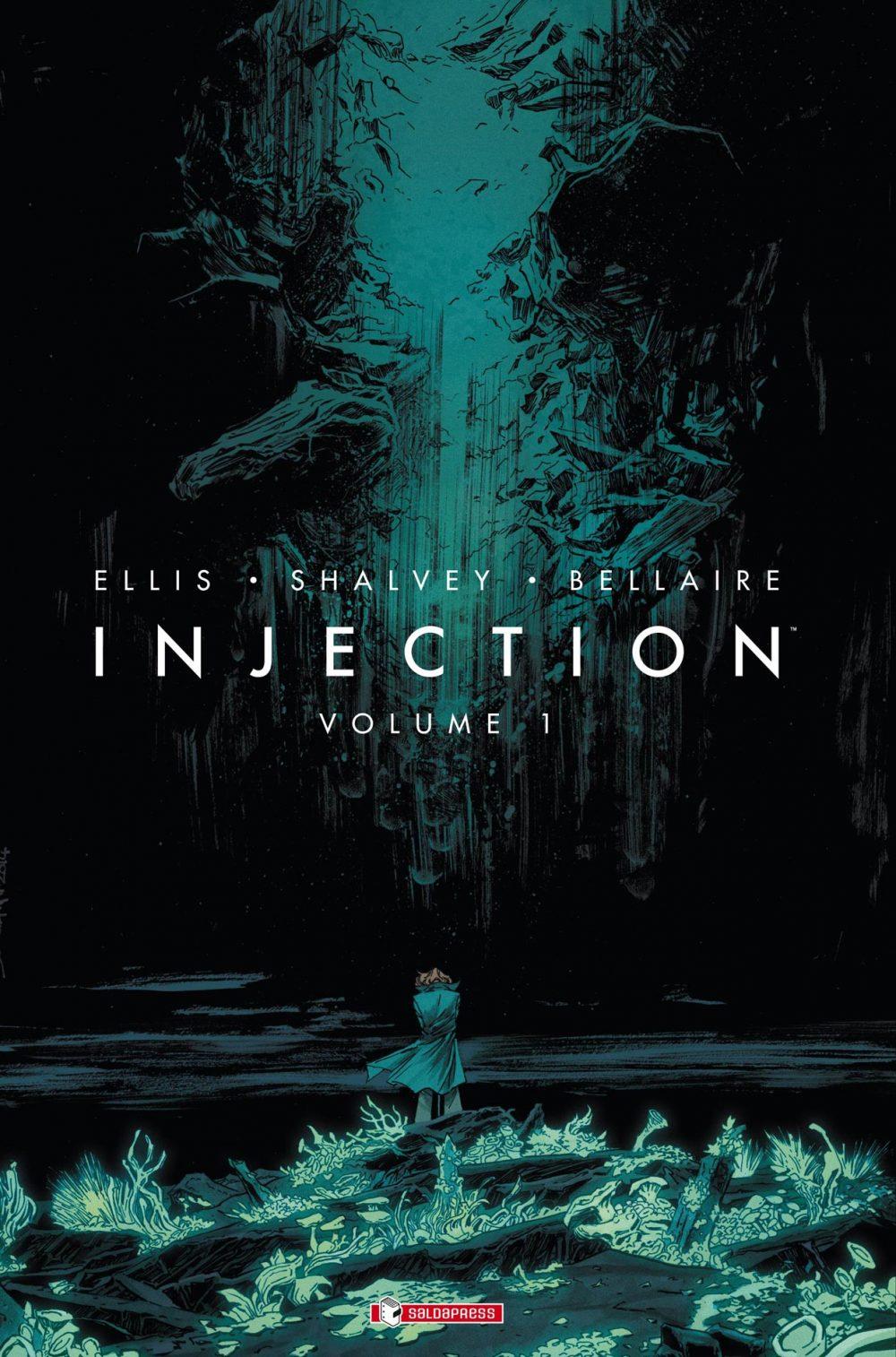 Injection vol. 1, copertina di Declan Shalvey