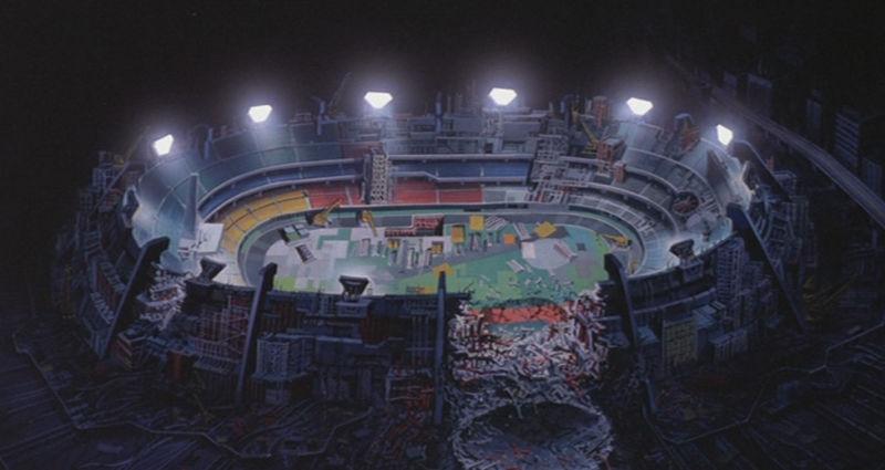 Akira - Lo stadio