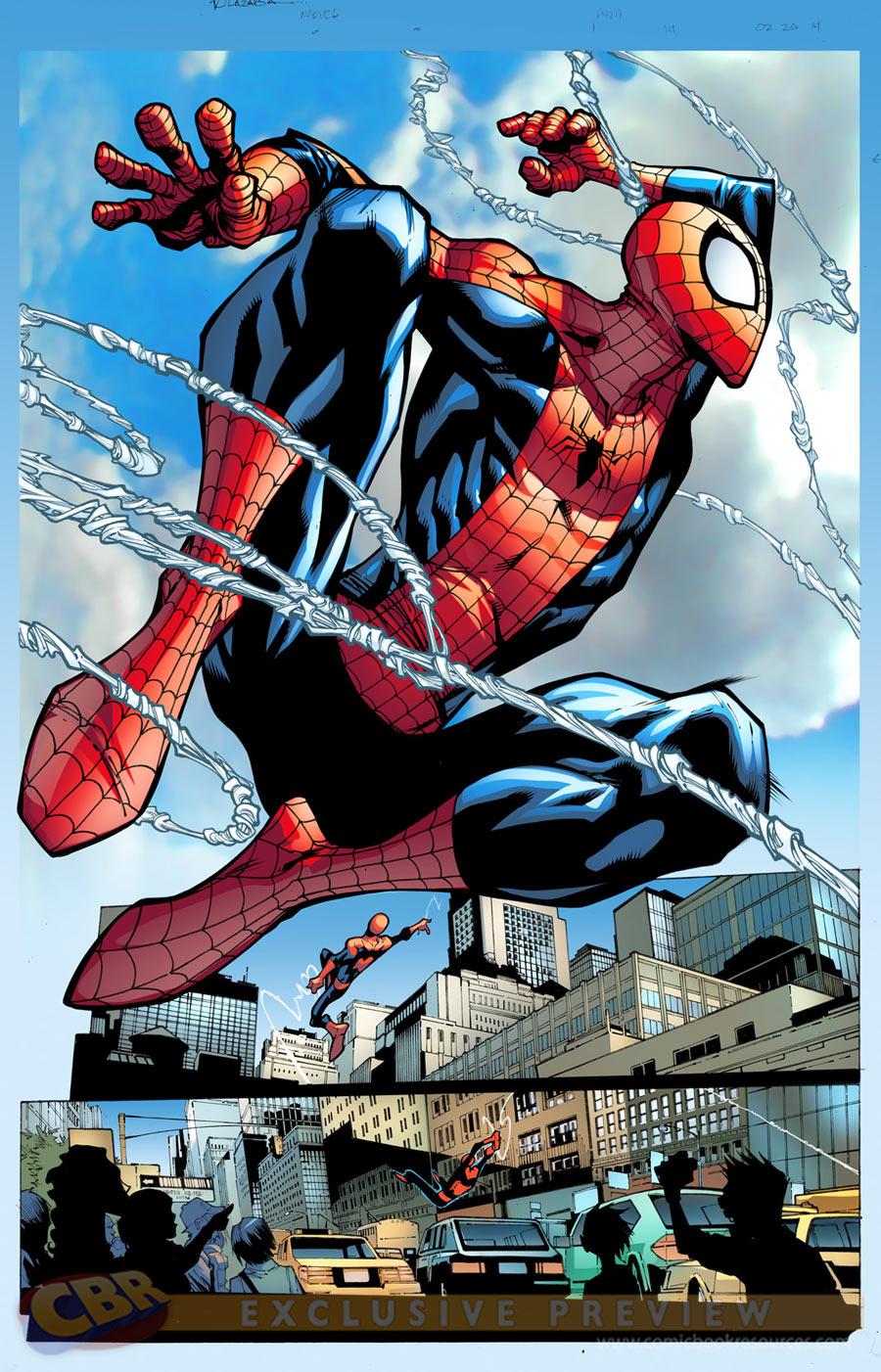 Spider-Man di Humberto Ramos