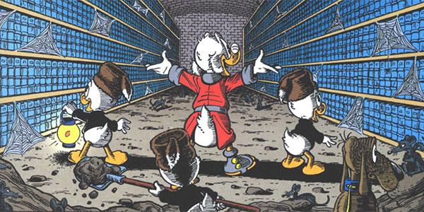 Chrono Don Rosa #33: Zio Paperone e i guardiani della biblioteca perduta
