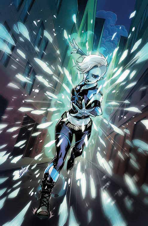 Justice League of America: Killer Frost Rebirth #1, copertina variant di Mirka Andolfo