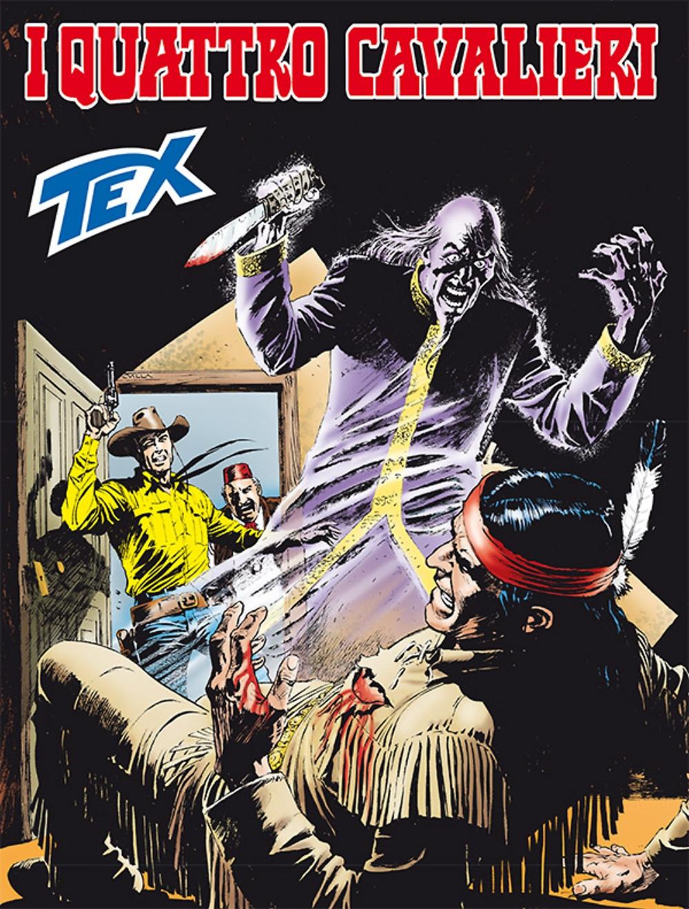 Tex 674: I quattro cavalieri