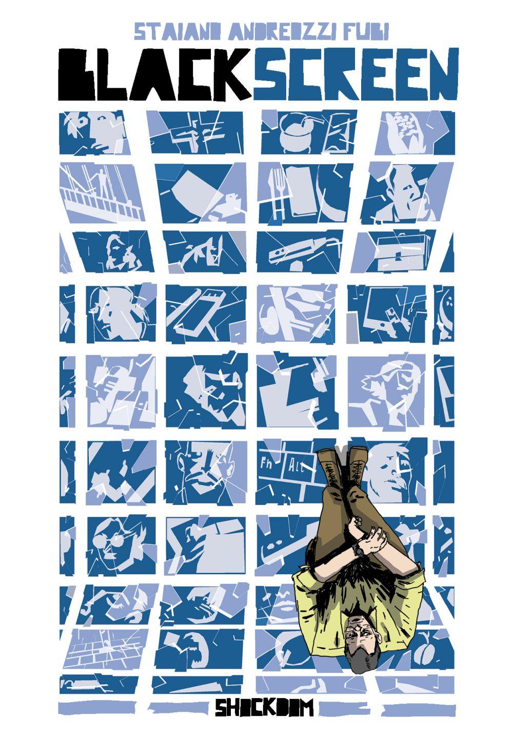 BlackScreen, copertina di Giovanni Fubi Guida
