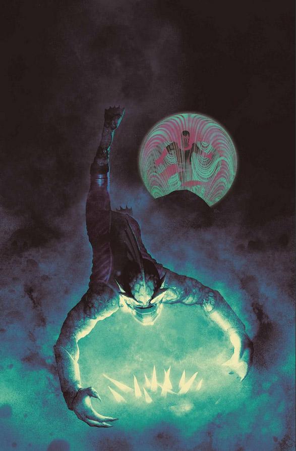 Uncanny Inhumans #19, copertina di Frazer Irving