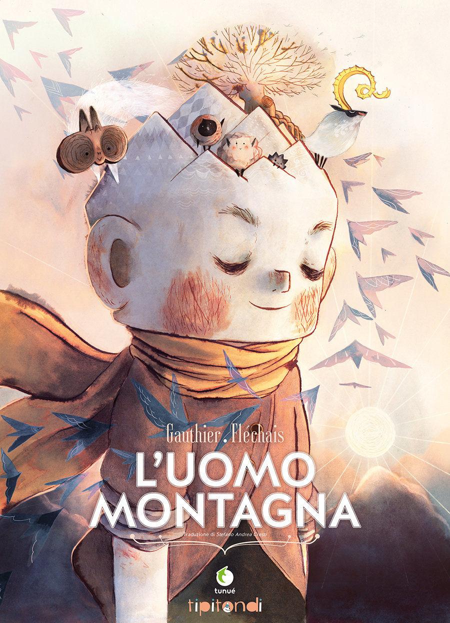 L'Uomo Montagna, copertina di Amélie Fléchais