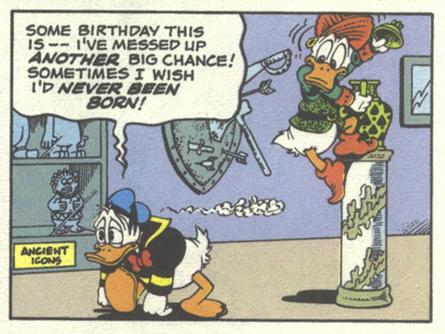 Paperino e il genio del compleanno