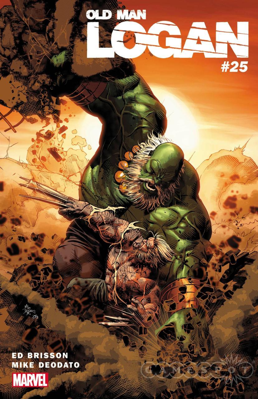 Old Man Logan #25, copertina di Mike Deodato Jr.