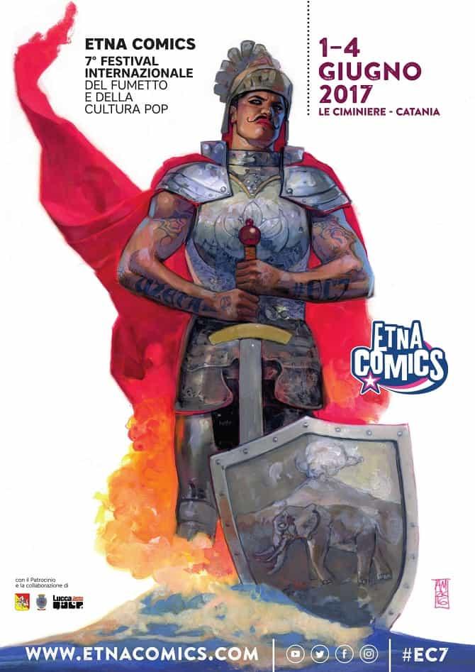Etna Comics 2017, la locandina di Alex Maleev