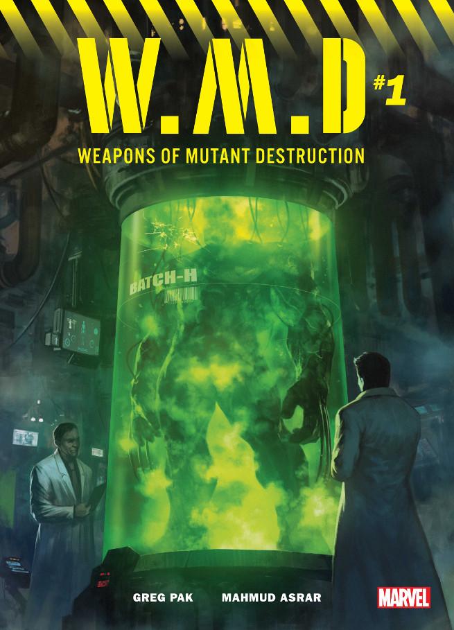 Weapons of Mutant Destruction . #1