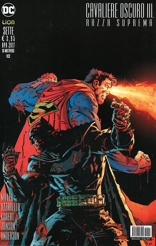 Cavaliere Oscuro III - Razza Suprema 7, copertina di Andy Kubert