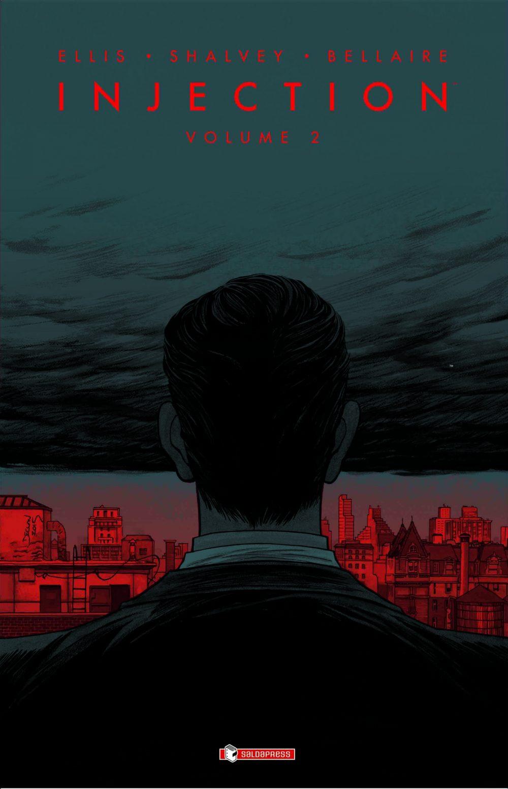 Injection vol. 2, copertina di Declan Shalvey
