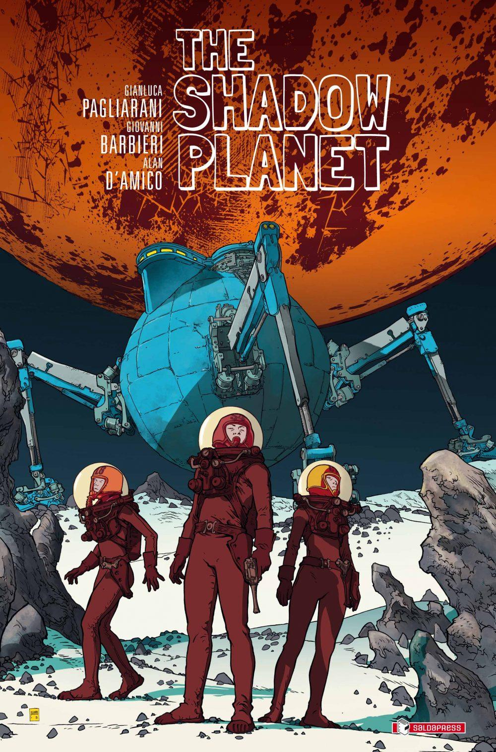 The Shadow Planet, copertina di Gianluca Pagliarani
