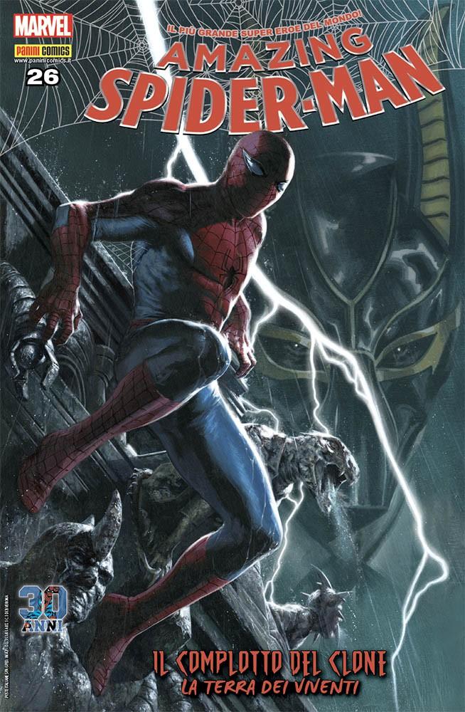 Amazing Spider-Man 26, copertina di Gabriele Dell'Otto