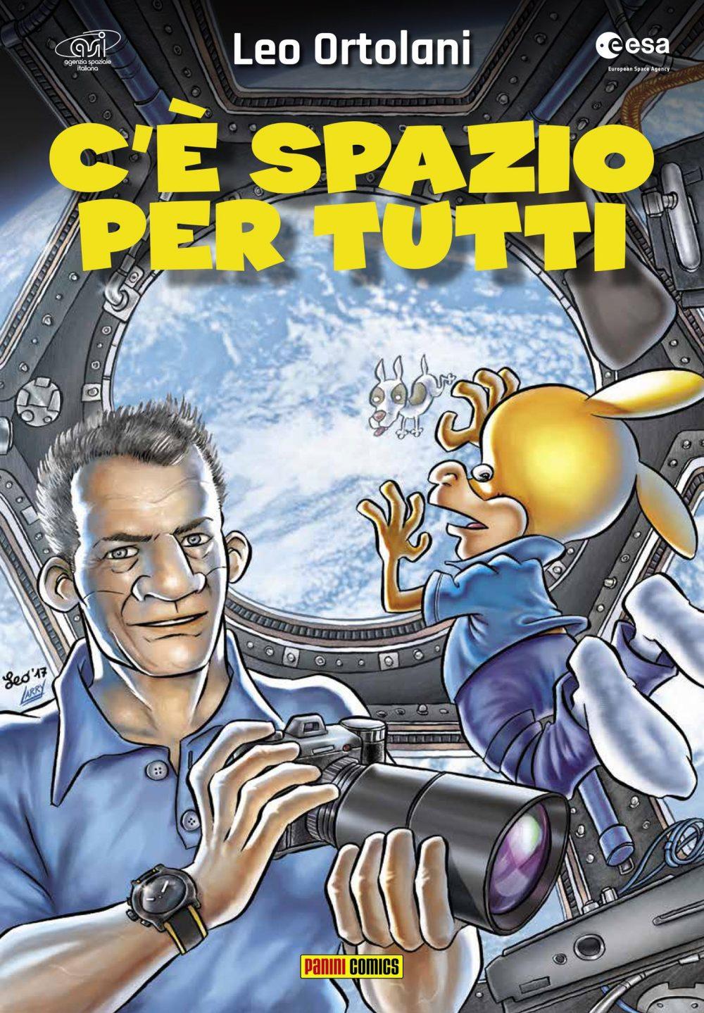 C'è spazio per tutti, copertina di Leo Ortolani