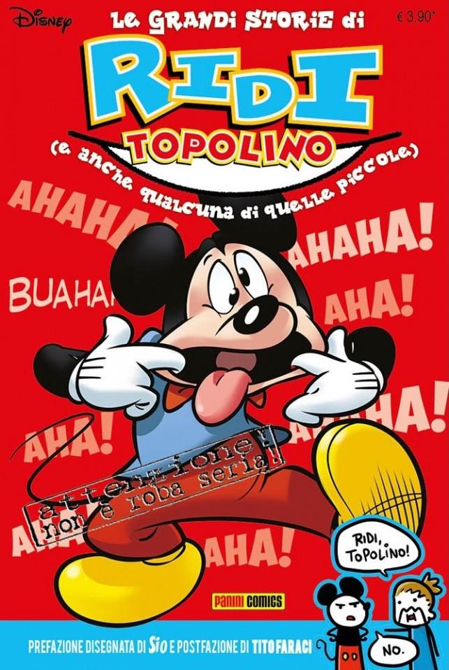 Le grandi storie di Ridi Topolino, copertina di Carlo Limido