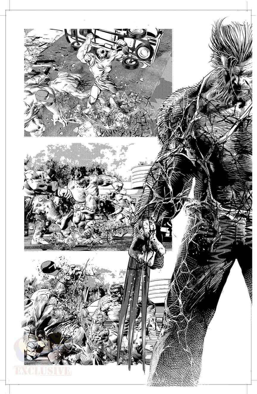 Old Man Logan #25, anteprima 01