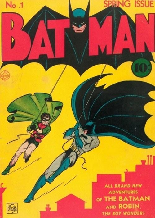 Batman 1, copertina di Bob Kane