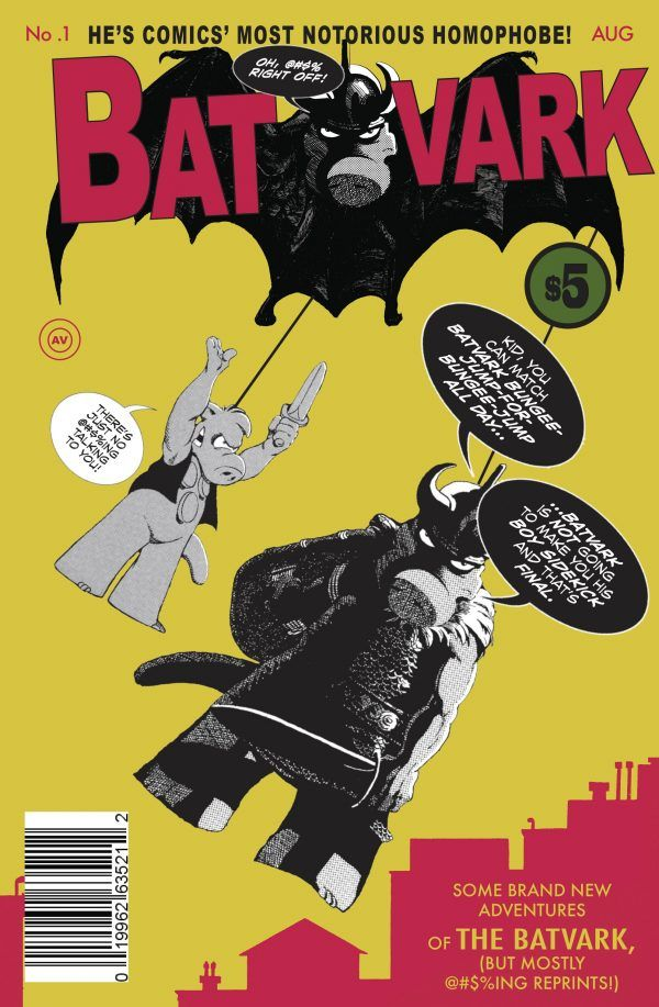 Batvark #1, copertina di Dave Sim, Gustave Dore