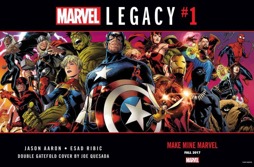 Marvel Legacy #1, copertina di Joe Quesada