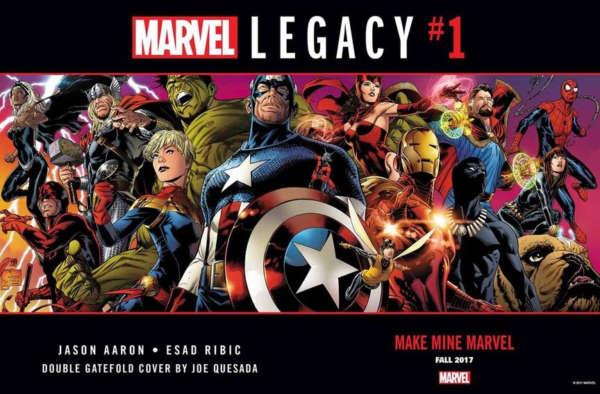 Marvel Legacy #1, copertina doppia di Joe Quesada
