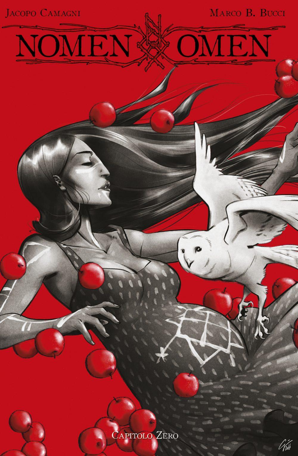 Nomen Omen 0, copertina di Jacopo Camagni