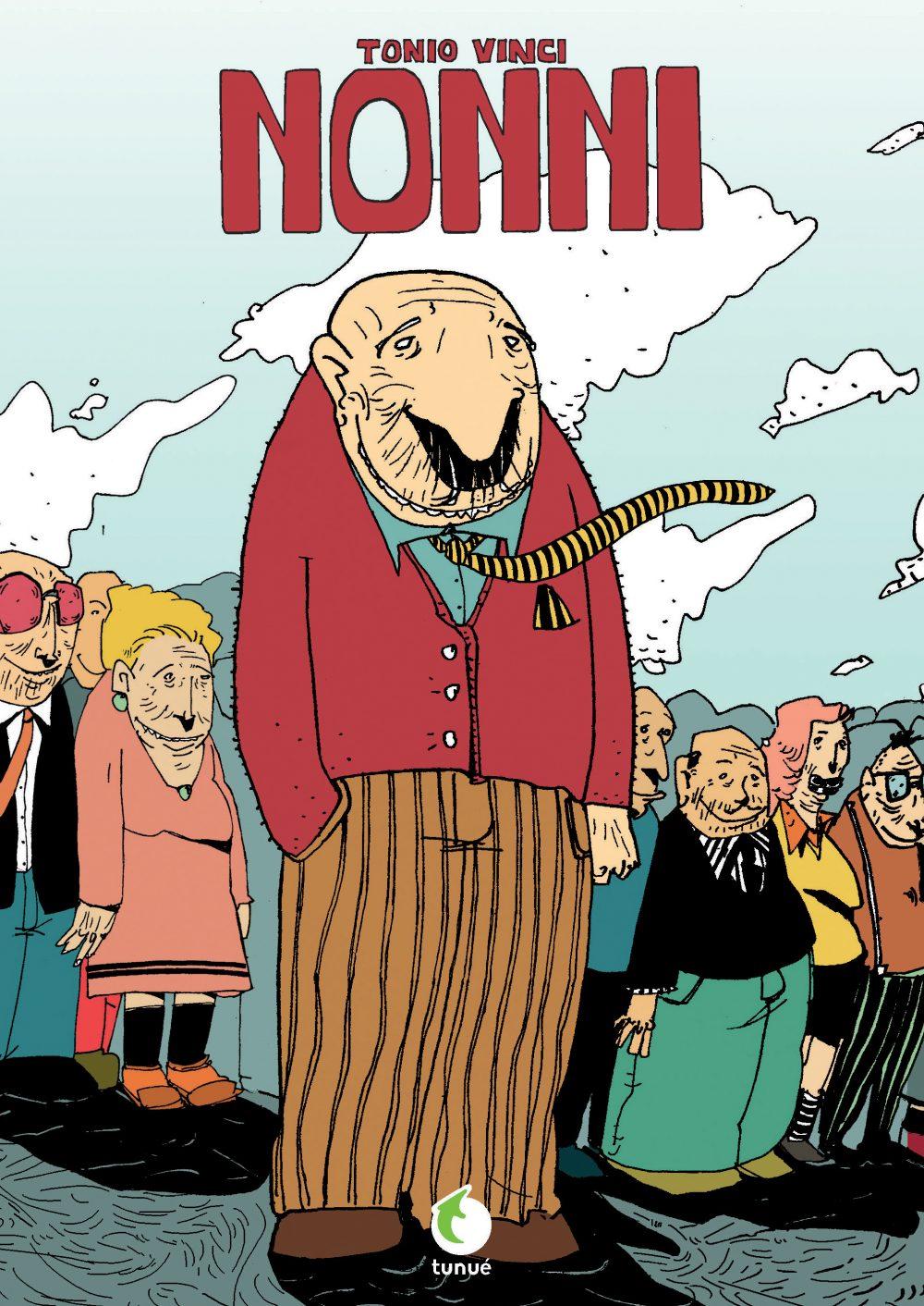 Nonni, copertina di Tonio Vinci